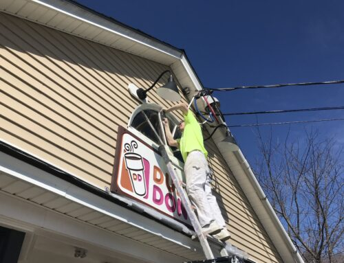 Dunkin Donuts Commercial Painting CT